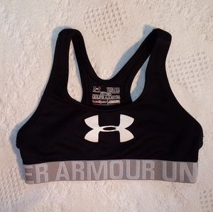 Under Armour Sportsbra Keyhole Back Youth Medium